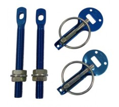 Blue Alloy Bonnet Pins